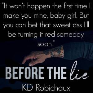 Before the Lie by K.D. Robichaux: Review   A Midlife Wife