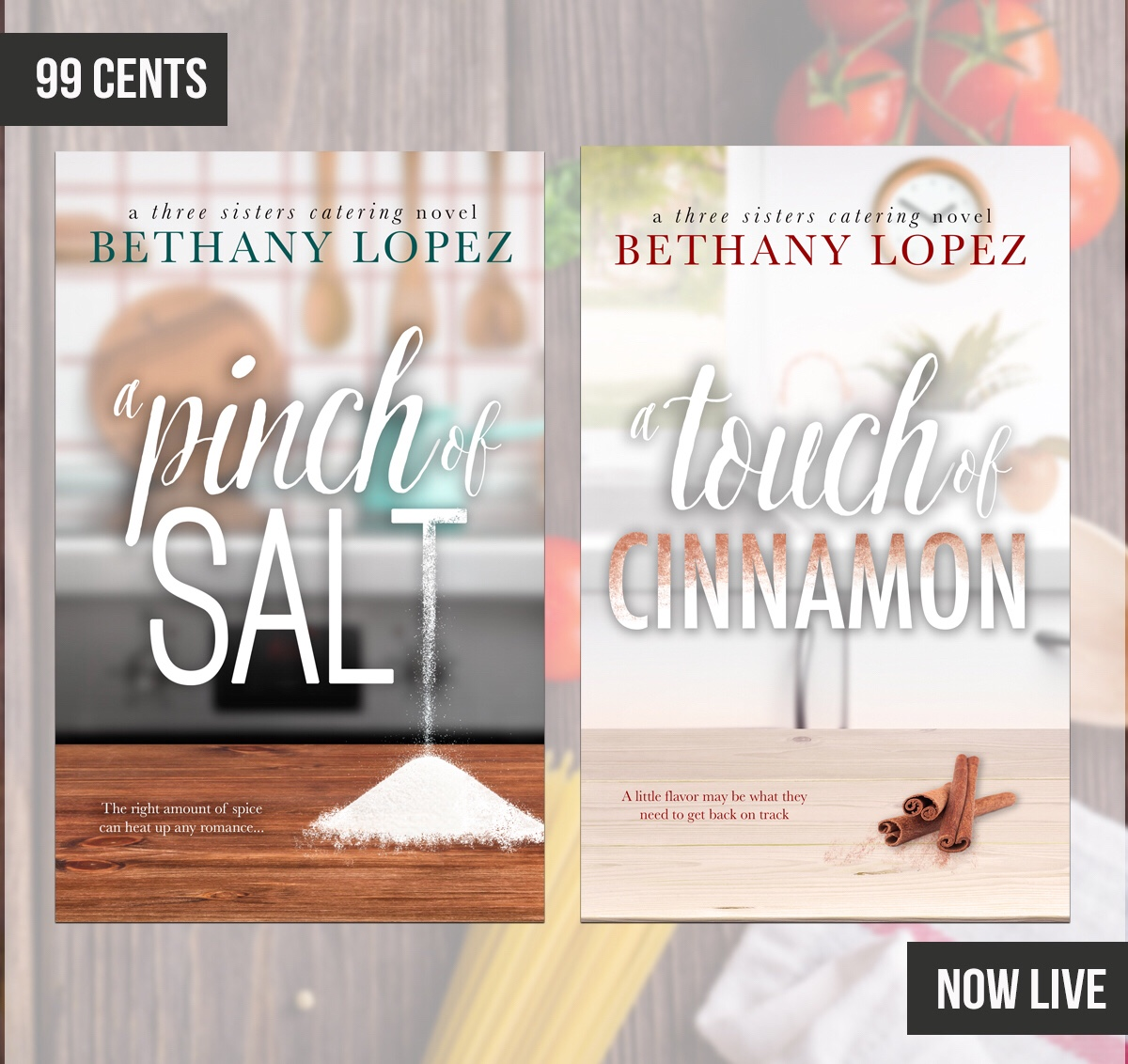 A TOUCH OF CINNAMON by Bethany Lopez