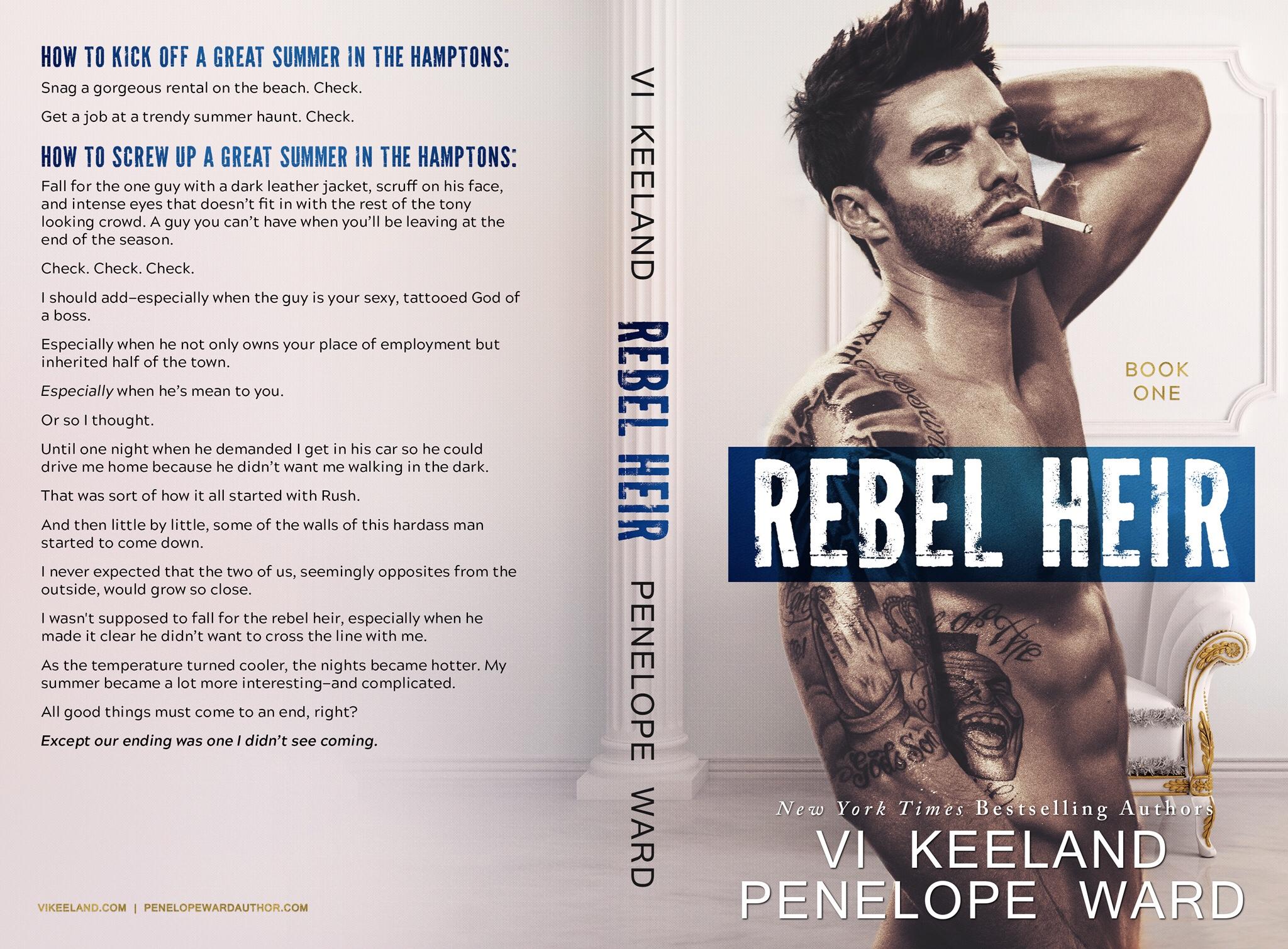 REBEL HEIR by Vi Keeland and Penelope Ward