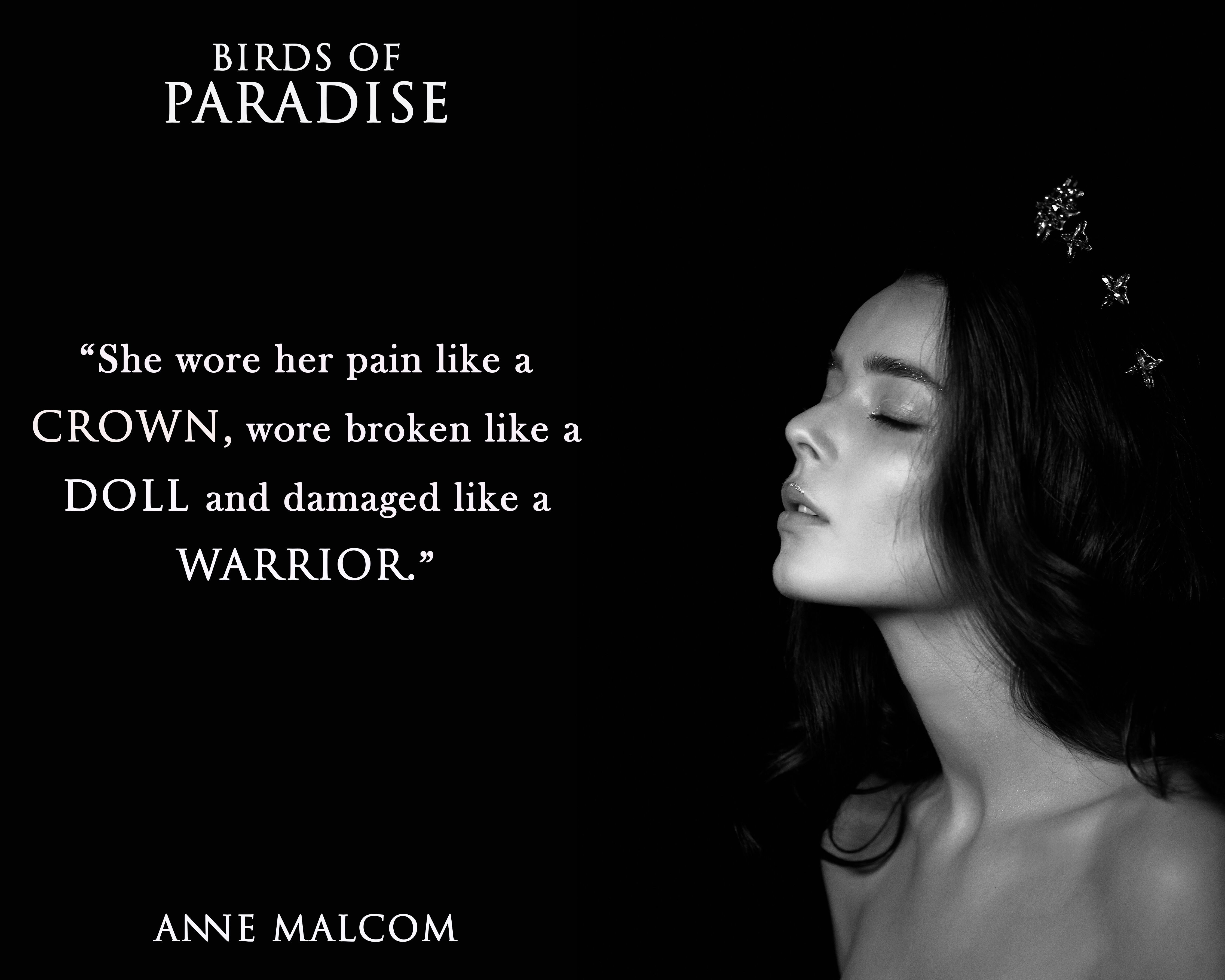 BIRDS OF PARADISE by Anne Malcom