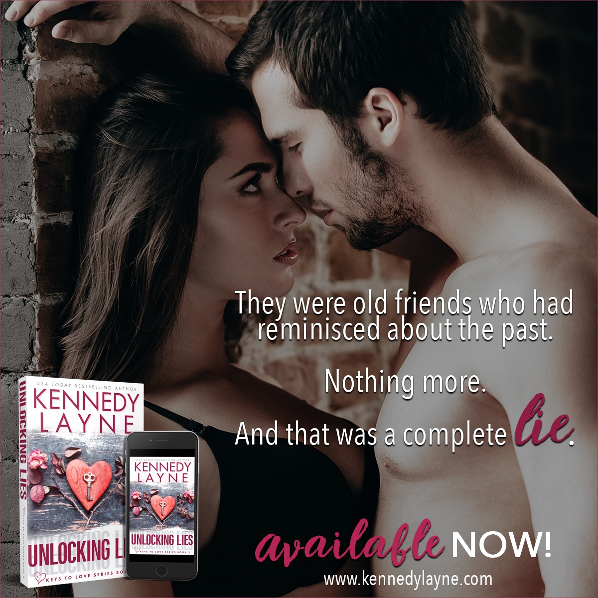 UNLOCKING LIES by Kennedy Layne