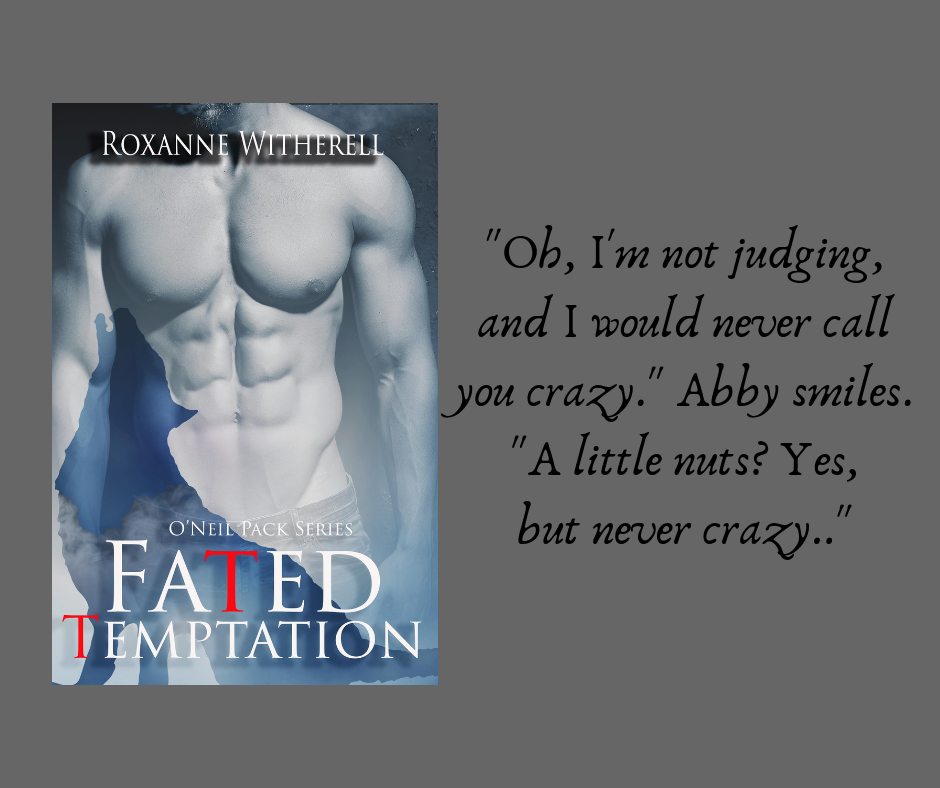 FATED TEMPTATION by Roxanne Witherell