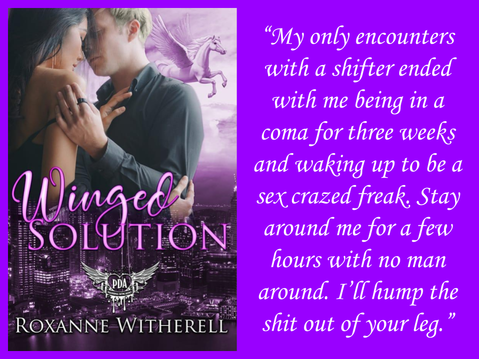 WINGED SOLUTION by Roxanne Witherell