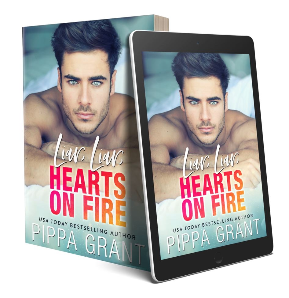 LIAR, LIAR, HEARTS ON FIRE by Pippa Grant